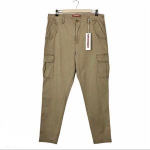 Unionbay Garner Military Cargo Khaki Pants 13